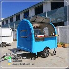 FT-200 фургончик с едой/прицепом/тележкой для мороженого/тележки для еды с различными цветами