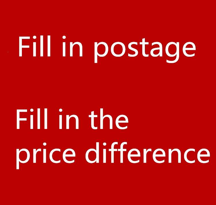 Freight difference Customer wholesale order price link Please do not purchase without communicating with the customer