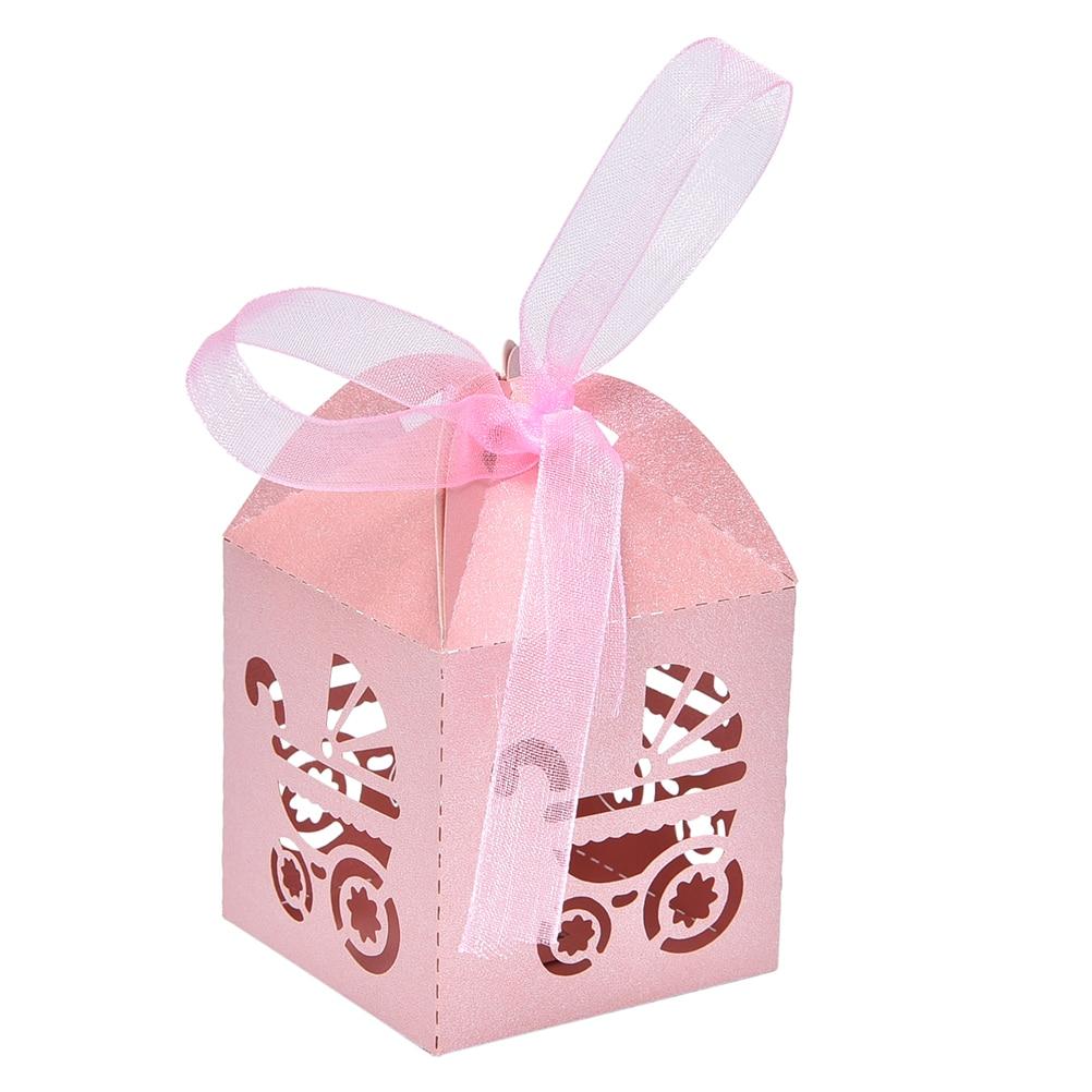 10 pcs Wedding Candy Box Laser Cut Wedding Favor Boxes Casamento ...