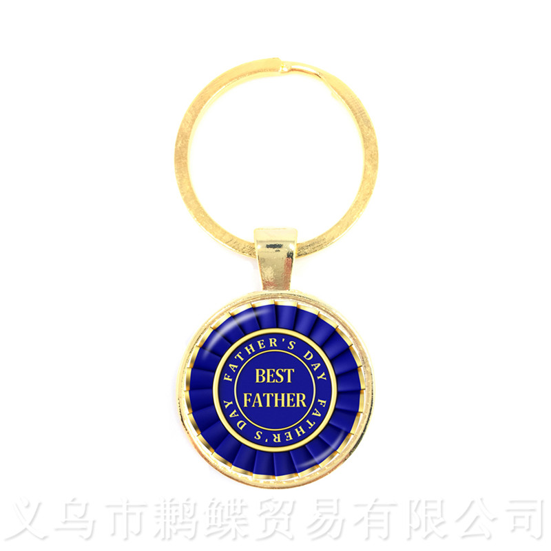 Great Father Men Keychains 15 Styles For High Quality Happy Fathers Day Gifts Handmade Jewelry Keyring