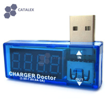 USB Power Charger Current Voltage Tester 4-Digit Red Display 3.5~7V 0~3A Decetor