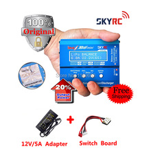 Original SKYRC iMAX B6 Mini+Adaper+Switch Board Professional Balance Charger / Discharger for RC Battery Charging
