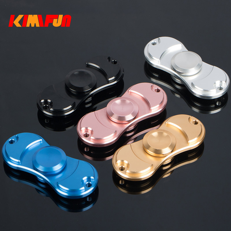 Metal Tir-Spinner Toy Findget Fidget Hand Spinner Rotation Time Long  Autism And ADHD Kids/Adult Funny Anti Stress Toys Linear