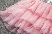 2017 Infant Baby Girls Dress Bowknot Sequined Dress Princess Tutu Cake Dresses Hollow Out Toddler Kids Bowknot Party Dresses