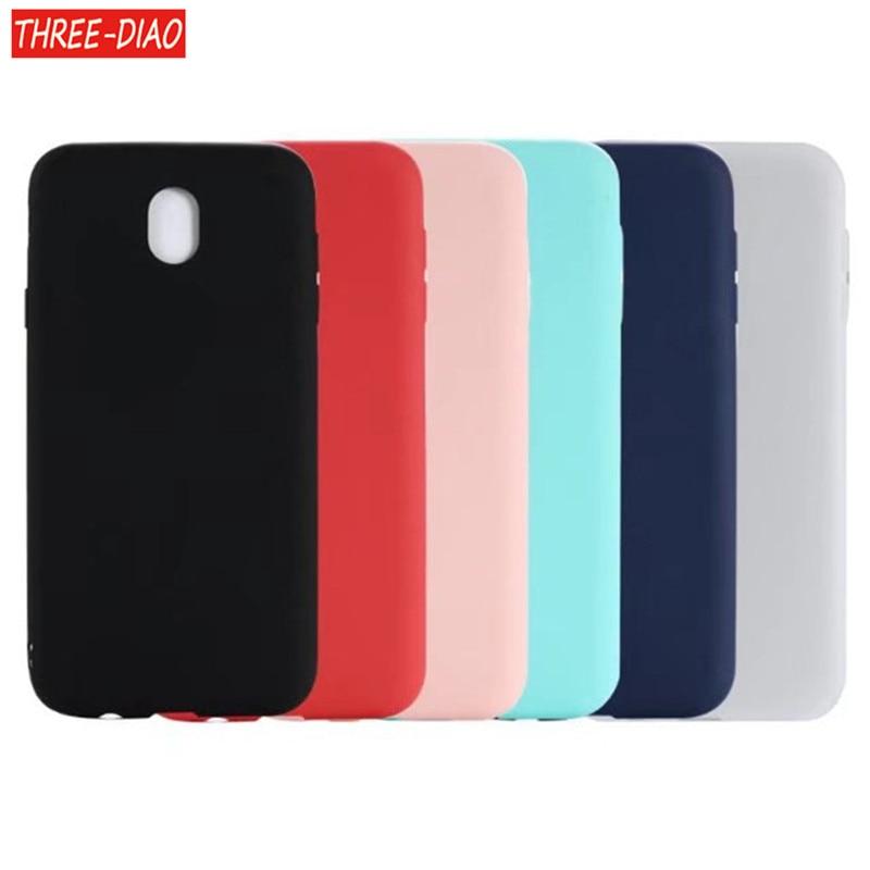 Galleria fotografica THREE-DIAO Soft Case For Samsung Galaxy J5 2017 J5 Pro Silicone Back Cover Phone Case For Samsung Galaxy J5 2017 SM-J530F J530