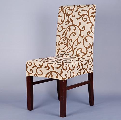 1 ШТ. Уверены, подходят мягкие растянуть спандекс шаблон чехлы на стулья для кухни стул короткий обеденный стул крышка фиолетовый серый шампанское v43