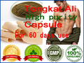 60pcs for 2 months supply Sexual Health Herbal Dietary Supplements Natural Tongkat Ali Red Root Extract Powder Capsules