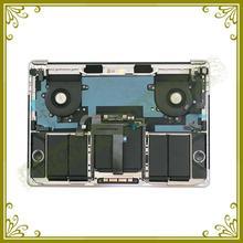 Original New Grey A1706 Palm Rest For Macbook Pro 13″ A1706 Palmrest Topcase US Keyboard Backlight Trackpad Fan Battery Speaker