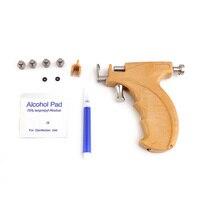 Professionelle Ohr Nase Piercing Pistole Edelstahl Sicherheit Ohrring Piercing Pistole Werkzeuge Set