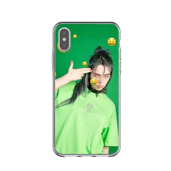 Billie eilish rainbow blohsh Ocean Eyes Soft Back Cover Phone Case For iPhone 11 Pro Max X 5 5S SE 6 6S Plus 7 8 Plus XS MAX XR 1
