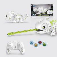 RC Animals Funny Chameleon Smart Chameleon Remote Control Toys for Changeable Toy for Kids Toy