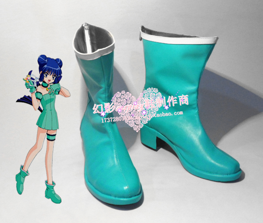 Shoes Costumes & Accessories Practical Tokyo Mew Mew Aizawa Minto Green Short Halloween Girls Short Cosplay Boots Shoes H016 To Win A High Admiration And Is Widely Trusted At Home And Abroad.