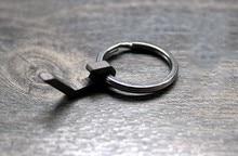Titanium Alloy Super Mini Corkscrew Keychain Pendant EDC Small Tools Bottle Opener