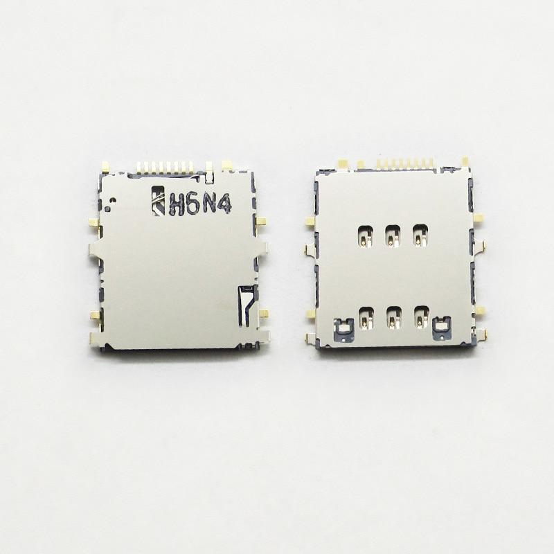 For Samsung Galaxy Tab A 9.7 3G/LTE T555 SM-T555  SIM Reader SIM Card Socket SIM Card Slot Connector