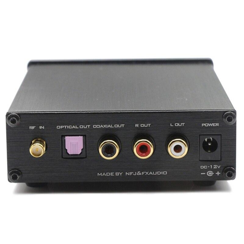 New FX Audio BL MUSE 02 CSR8670 NE5532P TA7666 Bluetooth 4 0 HIFI audio receiver fiber coax AUX lossless APTX 12V1A in Amplifier from Consumer Electronics