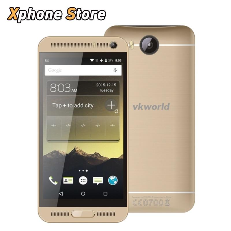 Цена за Оригинал VKworld VK800X Android 5.1 5.0 дюймов 8 ГБ ROM 1 ГБ RAM MTK6580 Quad Core 1.3 ГГц Поддержка Dual SIM Play Store мобильный телефон