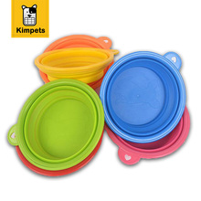Pet Portable Silicone Collapsible Travel Feeding Bowl