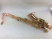 Henri SELMER Tenor Saxophone Phosphor Bronze Music Instruments R 54 Bronze Plated With Gloves Cleaning Cloth