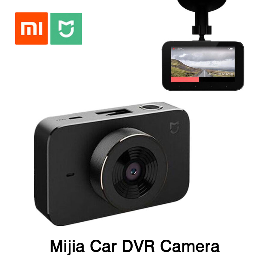 Original Xiaomi Mijia Carcorder Smart DVR Car Recorder F1.8 1080P 160 Degree Wide Angle 3 Inch HD Screen Carcorder Car Recorder