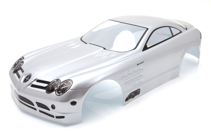Ewellsold 1:10 Radio Control Car 1/10 PVC Body Shell 200mm Silver NO:S021W free shipping ewellsold 1 10 rc car pvc body shell 200mm 033r red free shipping