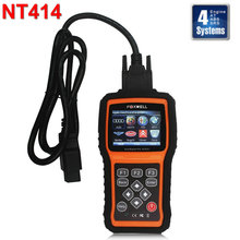 Foxwell NT414 Engine ABS Airbag SRS EPB OBD2 Code Reader Scanner Service Tools Same AS MD802 Car Diagnostic Tool