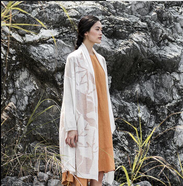 Asymétrie Black orange Automne Art white S416 Chandail Livraison Et D'hiver Cardigan Fan Gratuite Nouveau TqcH0xBP