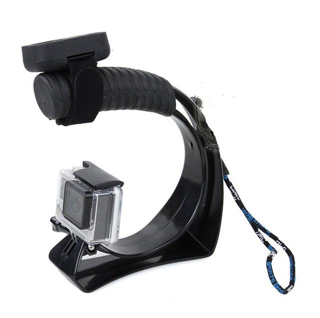 Estabilizador de câmera gopro quadro gravação de vídeo dv hand-held estabilizador para gopro hero 4/3 +/3 go pro 3 +/3 gopro 4 acessórios