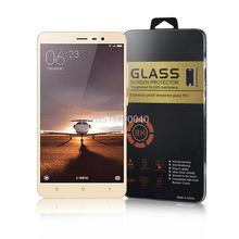 Retail Package for xiaomi redmi note 3 Pro Glass for xiaomi redmi 3s Glass xiaomi redmi note 2 Mi3 Mi4 Mi4C Mi5 Screen Protector