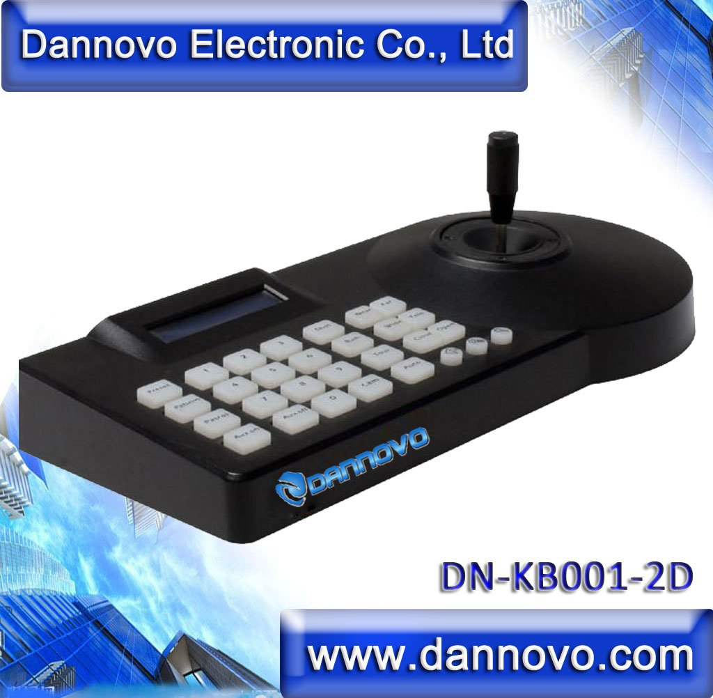 DANNOVO Pan Tilt RS485 Keyboard Controller LCD display For CCTV Speed Dome Camera and Video Conference Camera,Pelco-P/D Protocol