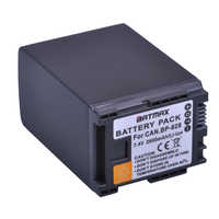 1 шт. 2900 мАч BP 820 BP-820 BP 828 батареи для Canon VIXIA GX10, XF400, XF405 HFG20, HFG30, HFG40, HFM41, HFM400, HFS21, HFS30