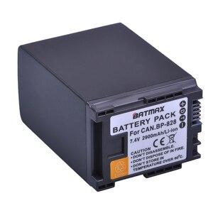 Image 1 - 1Pc 2900mAh BP 820 BP 820 Batteria per Canon LEGRIA GX10, XF400, XF405 HFG20, HFG30, HFG40, HFM41, HFM400, HFS21, HFS30