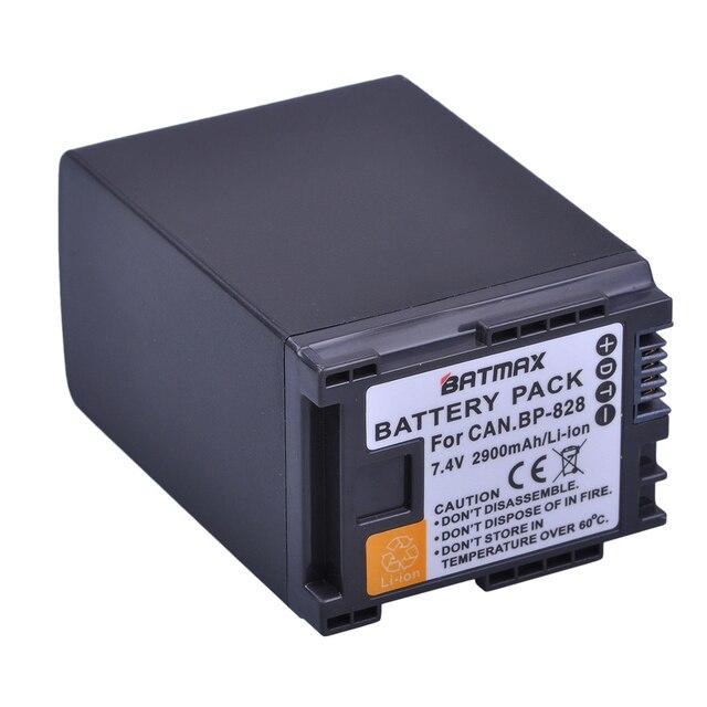 1Pc 2900mAh BP 820 BP 820 Batteria per Canon LEGRIA GX10, XF400, XF405 HFG20, HFG30, HFG40, HFM41, HFM400, HFS21, HFS30