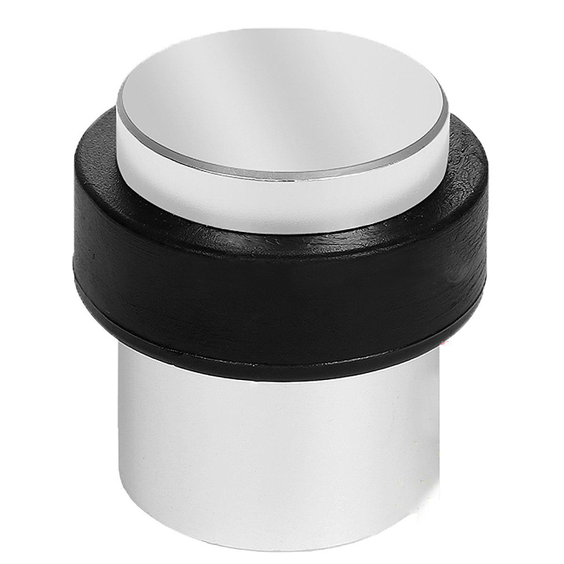 Mayitr Floor Mounted Door Stopper Buffer Alloy Screw in Doorstop Interior Rubber Door Stop For Household Hardware цена 2017