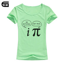 fa4c8f4c Math Joke T Shirt Women Summer Short Sleeve O-Neck T-Shirt Cotton Female Casual  Tops Tees B198