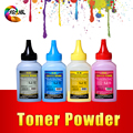 4pcs Compatible CB540A CB541A CB542A CB543A 125A toner powder for HP Color LaserJet CM1312 CP1215 CP1217 CP1514 CP1515 CP1518