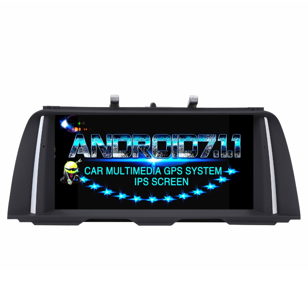 Android 7.1.1 Car DVD player FOR bmw 5 Series F10/F11 Original CIC or NBT System car audio monitor stereo ips screen receiver