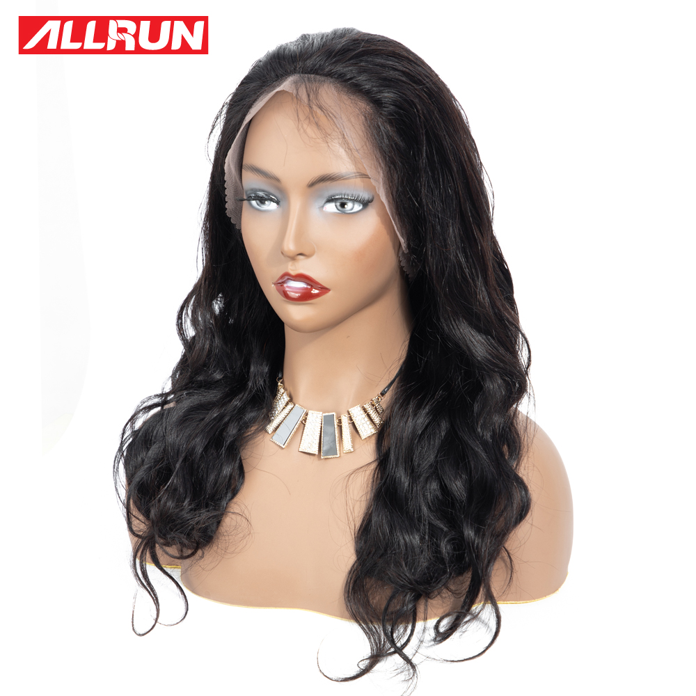 Allrun синтетические волосы на кружеве натуральные волосы парики 360 синтетические волосы на кружеве al парик перуанский средства ухода за коже...