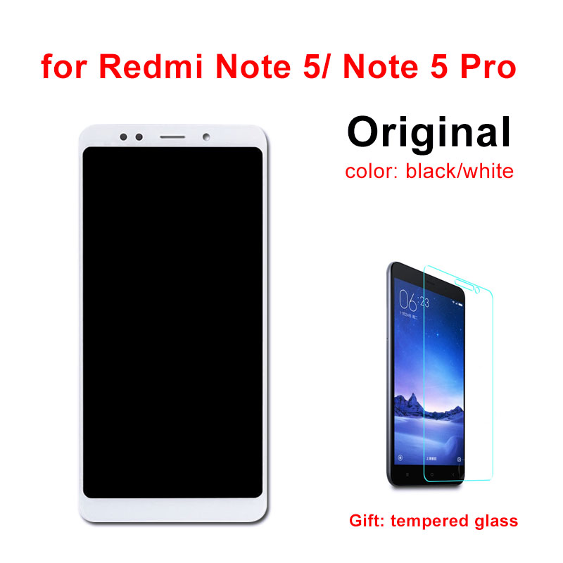 Original LCD for XIAOMI Redmi Note 5 Pro LCD Display Touch Screen With Frame 5.99 inch for Redmi Note 5 LCD Assembly-in Mobile Phone LCD Screens from Cellphones & Telecommunications