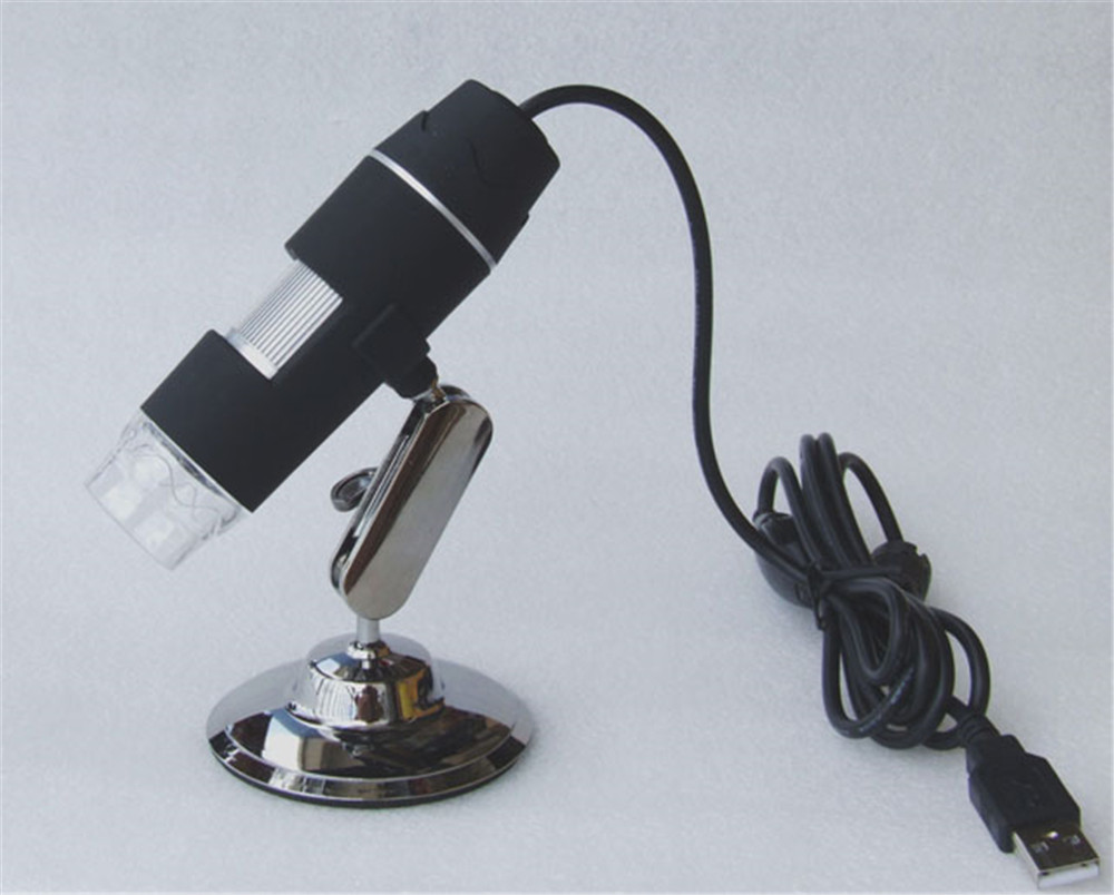 5MP 1-50/ 200X USB Microscope Handheld Endoscope 8 Kind Language