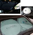 150cm*70cm Auto Front Rear Window Sun Shade Car Windshield Visor Cover Block Sunshade Foldable cover Fit For BMW M