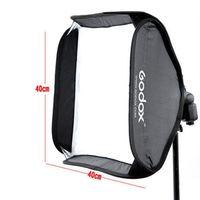 Godox Softbox 40x40 cm Diffusore Riflettore per Speedlite Flash Light Professionale Photo Studio Camera Flash Fit Bowens Elinchrom