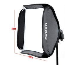 Godox Softbox 40×40 cm Diffuser Reflector for Speedlite Flash Light Professional Photo Studio Camera Flash Fit Bowens Elinchrom