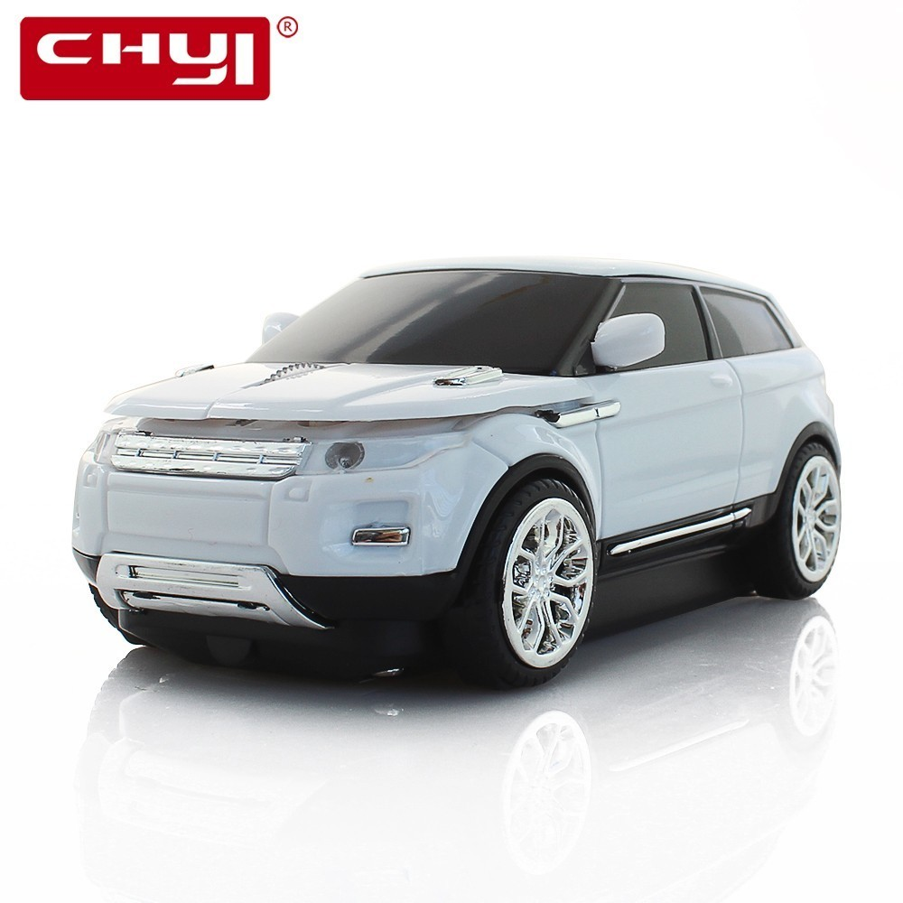 CHYI Wireless Mouse Ergonomic 2.4Ghz 1600 DPI Range Rover Grand Evoque Sports Car Mouse For PC Laptop Desktop SUV Vehicle Mice