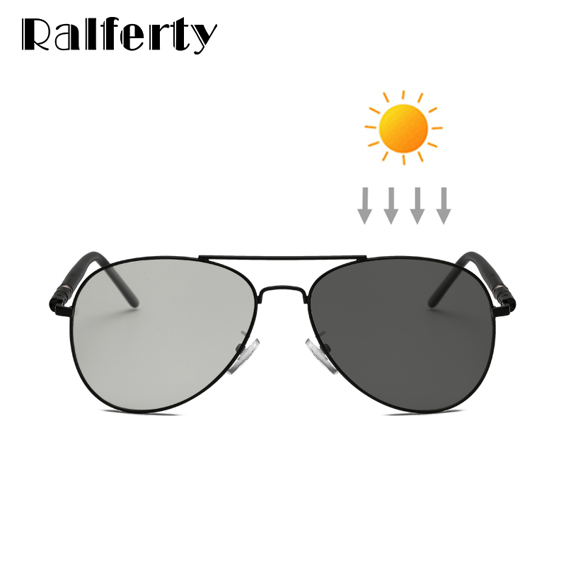 e57eaea082 Ralferty conducción fotocromáticos gafas de sol para hombres, gafas de  piloto Chameleon decoloración gafas de sol hombre pesca deporte gafas J209