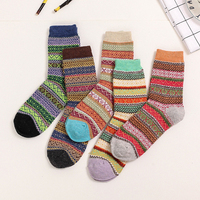 10pcs 5pairs Lot US 1 7 Pair 2016 New Autumn And Winter High Quality Women Socks