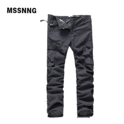 New arrival high quality spring style fashion solid mens cargo pants pockets cotton europe trousers joggers.jpg 250x250