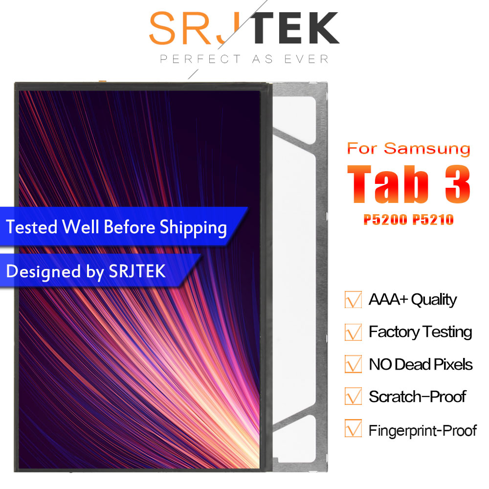 Best Quality For Samsung Galaxy Tab 3 10.1 GT P5200 P5210 P5200 LCD Display Screen Repairment Parts With 100% Tested