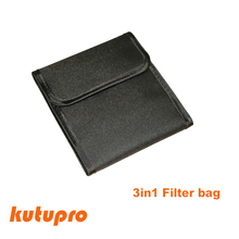 ktutupro Universal Portable Nylon Camera Lens Filter Bags For 37mm – 82mm Camera Filters 3 Wallet Lenses Accessories Pouch Case