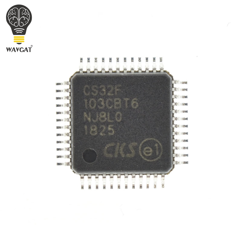 CS32F103CBT6 Completely replace STM32F103CBT6 STM32F103 LQFP-48 In Stock ARM-based 32-bit MCU with Flash for STM32 wallet