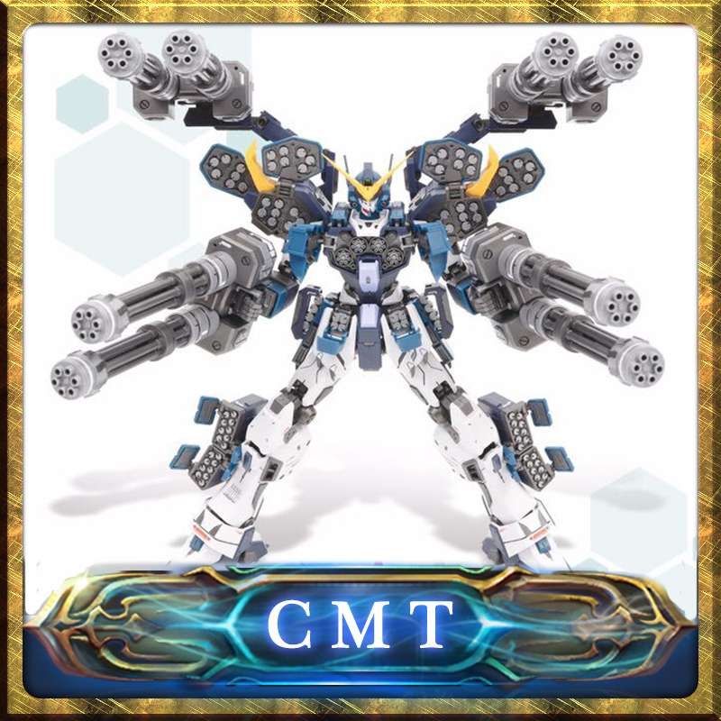 CMT In Stock Super Nova MG 1/100 XXXG-01H2 Heavy arms Mo Kai Custom Mobile Suit Anime Toys Figure stock 100